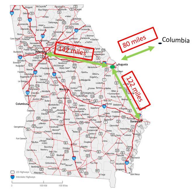 Fort Gordon Map new arrivals