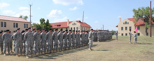 Temperatur in Fort Sill Oklahoma