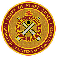 Army Award for Maintenance Excellence logo
