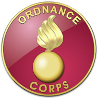 U.S. Army Ordnance Corps Branch plaque (graphic courtesy of Serge Averbukh)