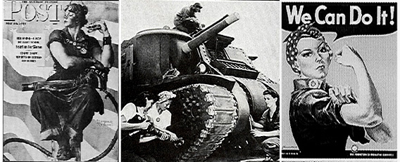 Rosie The Riveter Article History Of The Us Army Ordnance Corps