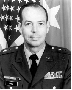 Major General Duard D. Ball