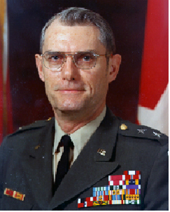 Major General Harlod B. Gibson Jr.