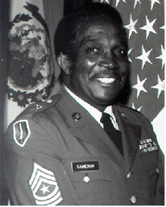 Sergeant Major Willie E. Cameron