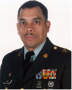 Command Sergeant Major Richard Vega