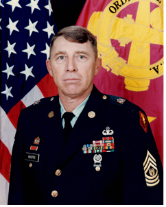 Command Sergeant Major Joshua C. Hooper