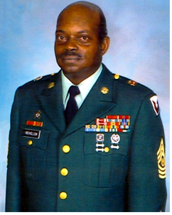 Command Sergeant Major Herbert Nicholson