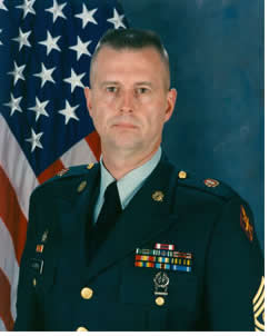 Command Sergeant Major Timothy D. Ayers