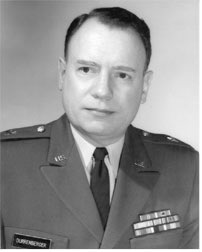 Major General William J. Durrenberger