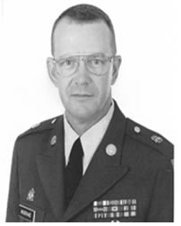 Command Sergeant Major John D. Woodyard