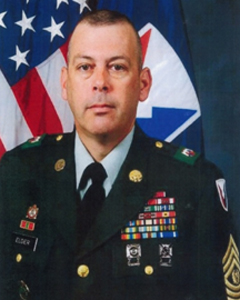 Command Sergeant Major Daniel K. Elder