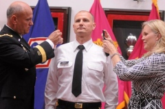 Col. Daly Promotion