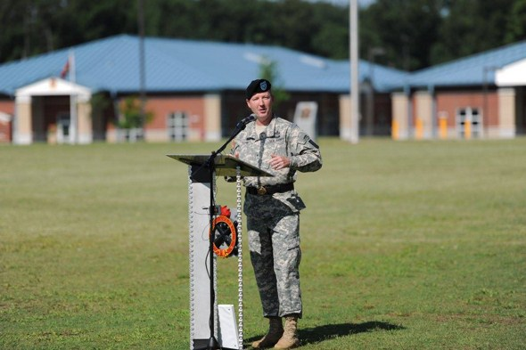 BG Kurt J. Ryan, the 39th Chief of Ordnance, offers his remarks at the Assumption of Command on 10 July 2015.