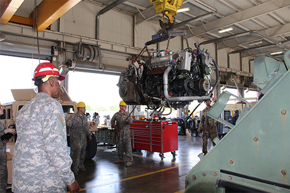 Regional Training Site - Maintenance Spotlight: Wheeled Vehicle Mechanic