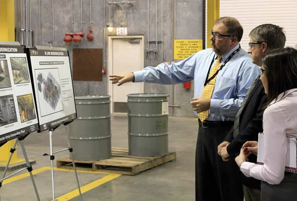 Left to right. Mr. Steve Cox (Engineering and