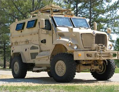 Mine Resistance Ambush Protected (MRAP) vehicle